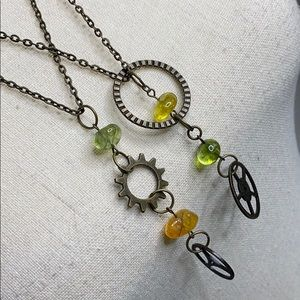 Steampunk Necklaces bundle of 2